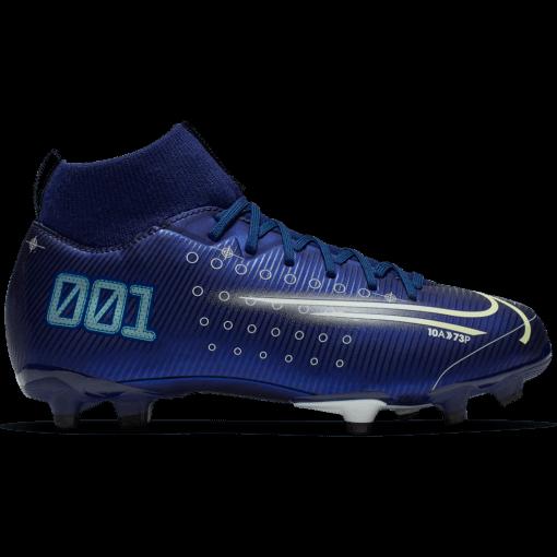 Nike Jr. Mercurial Superfly 7 Academy MG Void Blue