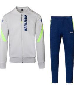 Robey x Banlieue Jog Suit Navy Neon