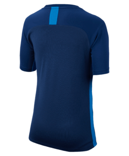 Nike Dri-Fit Academy Trainingsshirt Coastal Blue achterkant