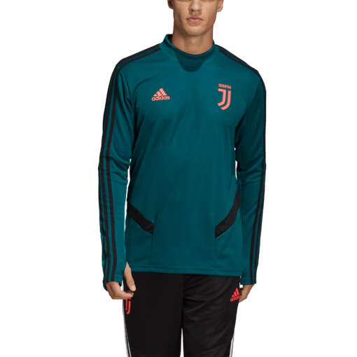 adidas Juventus Trainingstrui 2019-2020 Mystery Green