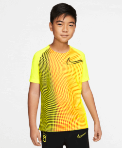 Nike Kids Dri-Fit CR7 Trainingsshirt Lemon Venom Black