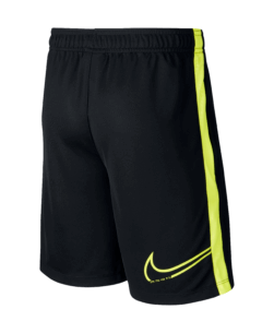 Nike Kids Dri-Fit CR7 Short Black Lemon Venom achterkant
