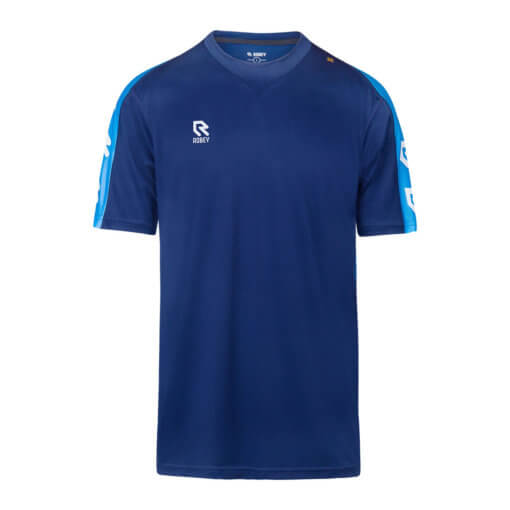 Robey Performance Shirt - Navy Sky Blue