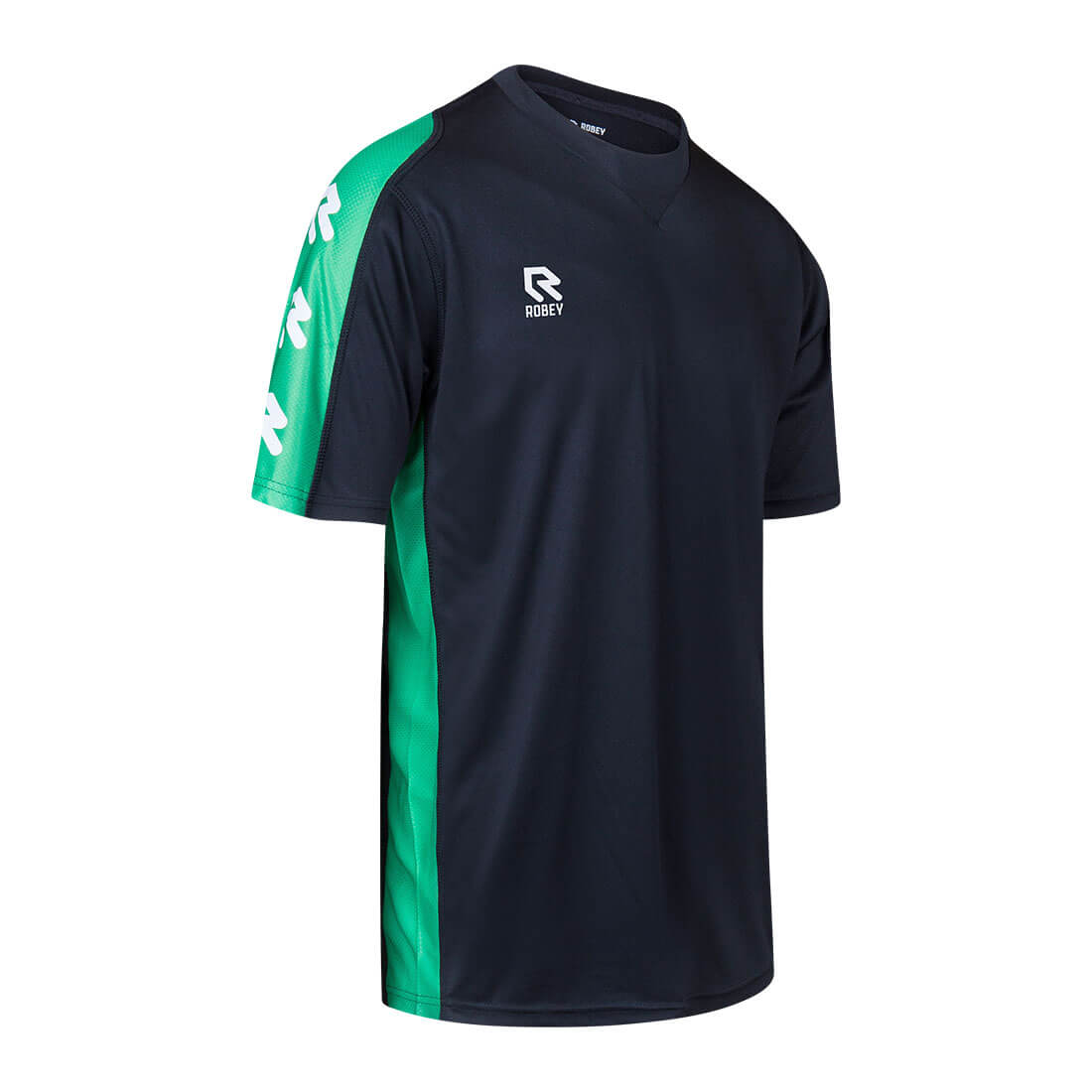 Robey Performance Shirt - Black Green