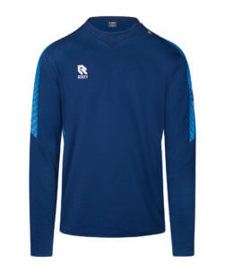 Robey Performance Sweater - Navy Sky Blue
