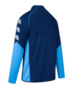 Robey Performance Full-Zip Jacket - Navy Sky Blue