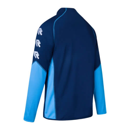 Robey Performance Full-Zip Jacket - Navy Sky Blue