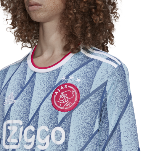adidas Ajax Uitshirt Junior 2020-2021 closeup