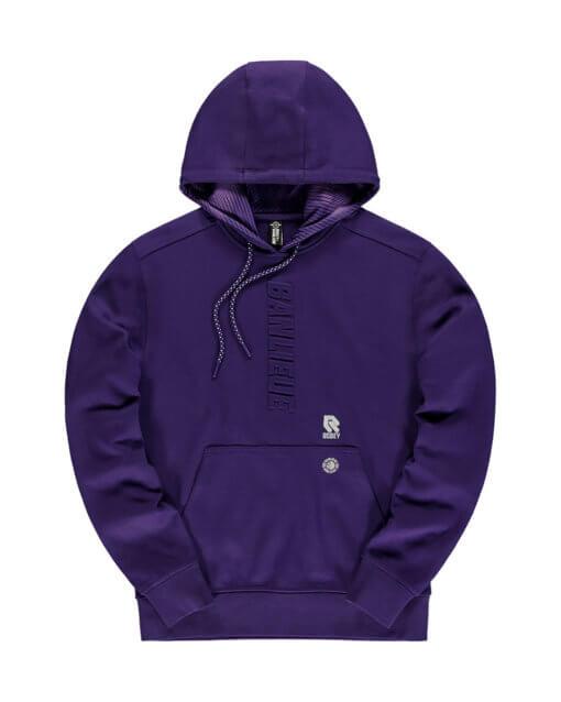 Robey x Banlieue Hoodie Purple