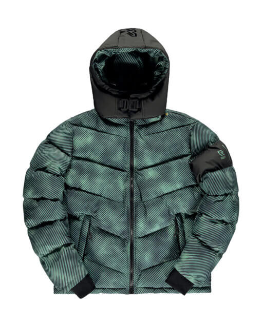 Robey x Banlieue Puffer Jacket Green
