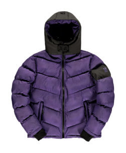 Robey x Banlieue Puffer Jacket Purple