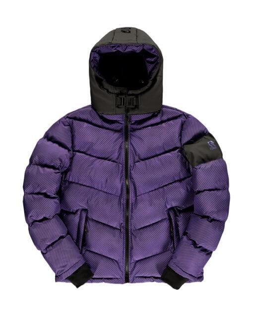 Robey x Banlieue Puffer Jacket Purple
