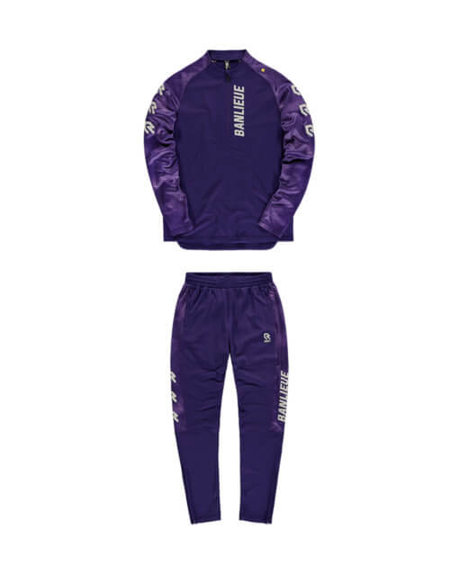 Robey x Banlieue Performance Tracksuit Purple