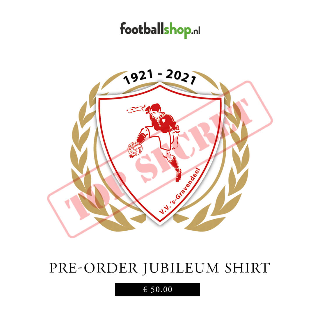 Robey v.v. 's-Gravendeel Jubileum Shirt