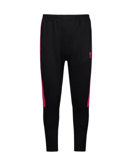 Robey Performance Pants - Black Neon Pink